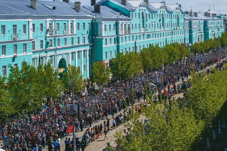 9 мая 2015 года по улицам Дзержинска впервые прошел Бессмертный Полк.