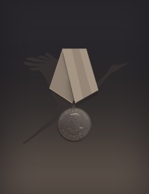 Орден отечественной войны 1 степени,и медаль за бевые заслуги.
