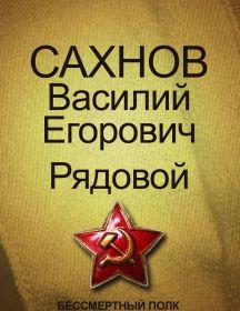 Сахнов Василий Егорович
