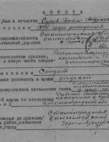 Суров Павел Андреевич