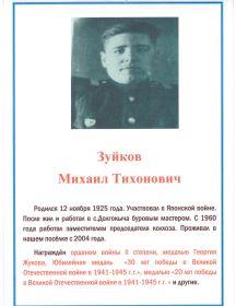 Зуйков Михаил Тихонович