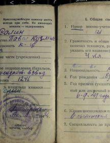 Салин Павел Кузьмич