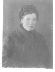 Никитина (Синицына) Анна Ильинична
