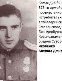 Яковенко Михаил Дмитриевич