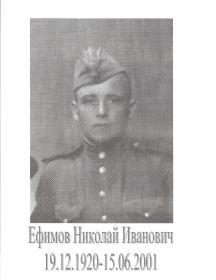 Ефимов Николай Иванович