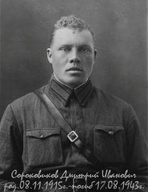 Сороковиков Дмитрий Иванович 1915-1943