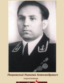 Покровский Николай Александрович