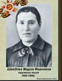 Шведова Мария Ивановна