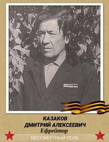 Казаков Дмитрий Алексеевич