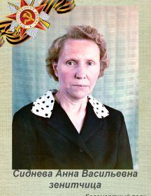 Сиднева Анна Васильевна