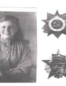 Беляева (Солдатова) Пелагея Матвеевна