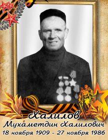 Халилов Мухаметдин Халилович