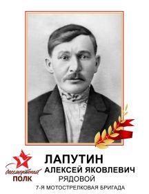 Лапутин Алексей Яковлевич
