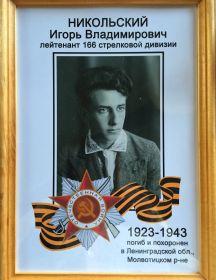 Никольский Игорь Владимирович