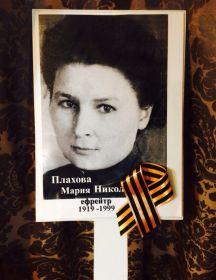 Плахова Мария Николаевна