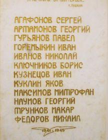 Федоров Михаил Иванович