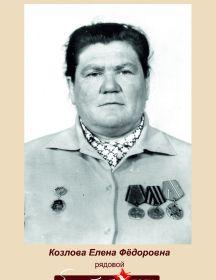 Козлова Елена Фёдоровна