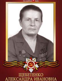 Щебетенко Александра Ивановна