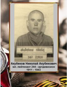 Акубеков Николай Акубекович