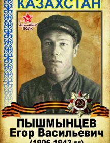 Пышмынцев Егор Васильевич