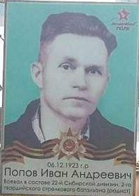 Попов Иван Андреевич