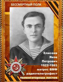 Елисеев Яков Петрович