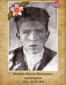 МАТВЕЕВ ВИКТОР ВАСИЛЬЕВИЧ