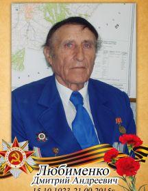 Любименко Дмитрий Андреевич