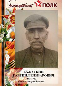 Бажуткин Гавриил Елизарович