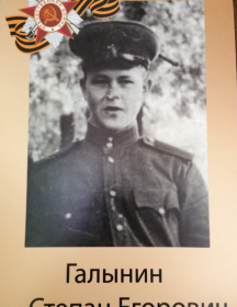 Галынин Степан Егорович