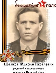 Новиков Максим Яковлевич
