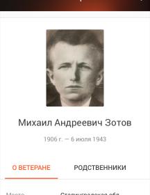 Зотов Михаил Андреевич