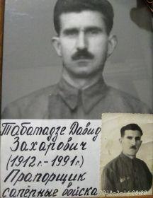 Табатадзе Давид Захарович