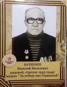 Бачинин Василий Яковлевич