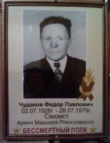 Чудаков Федор Павлович
