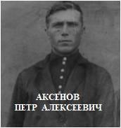 Аксёнов Пётр Алексеевич