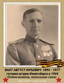Вахт Август Юрьевич