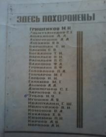 Гришенков Михаил Иванович