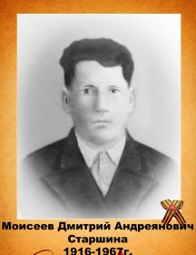 Моисеев Дмитрий Андриянович