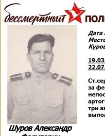 Шуров Александр Федулович