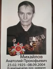 Михайлов Анатолий Прокофьевич