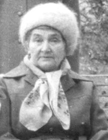Усик (Волкова) Полина Евдокимовна
