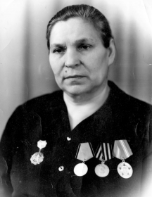 Чазова(Емельянова) Евдокия Дмитриевна