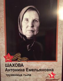 Шахова Антонина Емельяновна