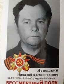 Лепешкин Николай Александрович