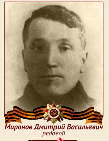 Миронов Дмитрий Васильевич