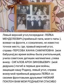 Левин Лейба Менделеевич
