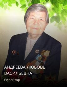 Андреева Любовь Васильевна