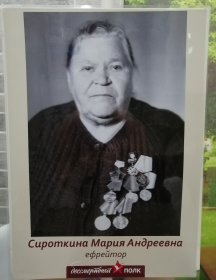 Полушина Мария Андреевна