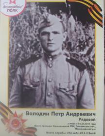 Володин Петр Андреевич